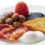 Cumbrian Breakfast at Cedar Manor