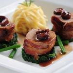 Pork Fillets - a typical main course at Cedar Manor