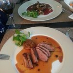 Duck breast & fillet steak