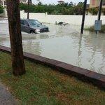 A bit of flooding after a rainy day