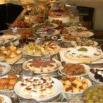 Das kalorienarme  Dessert Büfett