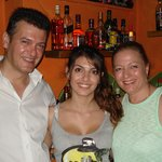 fanis, joanne and anna. thanks we had a great time.