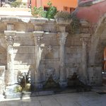 Rimaldi Fountain, Old town