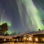 Hotel under the #northen lights