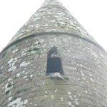 Particolare della torre circolare