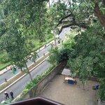 Looking toward the Jayakarta, it's a short walk.