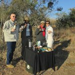 Amarula Coffee during an early morning game drive