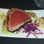 the ahi tuna appetizer is the best I've ever eaten ANYWHERE!!!