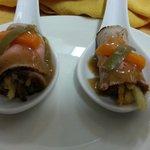 aperitivo Roastbeef y verduritas-MENÚ CASUAL