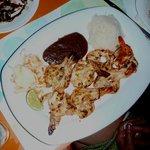 Grilled Shrimp at El Moro
