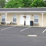 Lovely motel close to Jamestown Marina