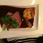Fillet of Beef with Pomerol Wine sauce.