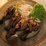 grilled chicken starter