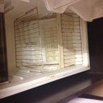 The rusty fridge