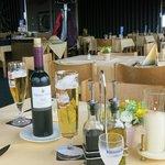 die Getränke - und die Pfeffermühlenflasche ;-)