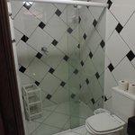 Banheiro de muito bom gosto !