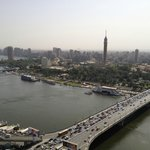 Nile RIver and Cairo Tower