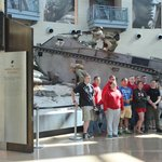 student visitors, National Museum of the Marine Corps, April 2014