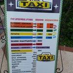 Цены такси