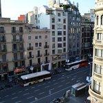 hotel Marvi, Barcellona, vista dalla camera