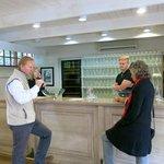 Richard tasting wine @ Buitenverwachting