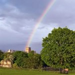 St Albans Cathedral from Verulamium Park