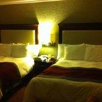 Dos camas matrimoniales