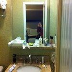 tocador del baño
