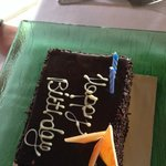 special birthday surprise from the staff :)