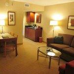 King Premium Suite living room area