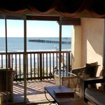 The view from our Ocean Front Suites
