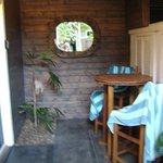 Junior Suite Rm 9 Outdoor Patio