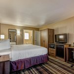 Proud to offer guest amenities such as a microwave and refrigerator in all guest rooms.
