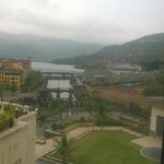 The view of the lake & promenade from the room