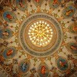 Orvieto Opera House: Chandelier from below