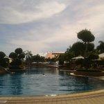 The amazing pool area.