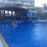 Trevligt poolområde