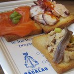seafood tapas from bacalao (stand #19)