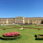 Gardens with Schonbrunn Palace