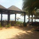 Bahari Bar at the beach