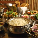 Tipico Indian food en Taj Tenerife