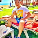 Я на пляже)