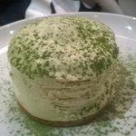 cheesecake de te verde