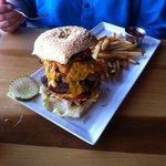 Burger im Hotelrestaurant