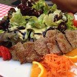 Beef salad! Yum.