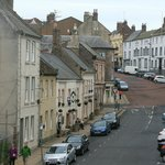 Sandgate and the Queens Head viewed from the city walls