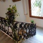 escalier menant aux suites