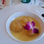 3 ravioles dans l'assiette : 6€ pièce
