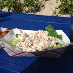 snack bar fresh crab salad