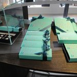 Beautiful chocolate boxes
